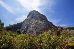 thailand Pattaya Roccia di Buddha immagini stock libere da diritti