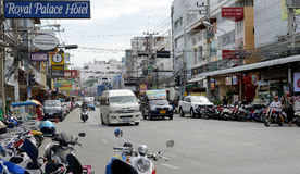 Thailand Pattaya Street Stock Images