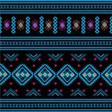 Geometric Ethnic pattern Stock Images