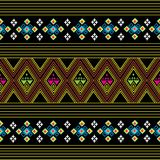 Sarong pattern background in Thailand Royalty Free Stock Photos