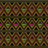 Sarong pattern background in Thailand Stock Image