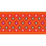 Thailand pattern Background Royalty Free Stock Photography