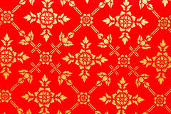 Thailand pattern background in Temple Royalty Free Stock Image
