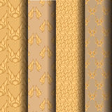 Thailand pattern. Thailand, pattern, color, texture and golden. Which can be used endlessly Stock Image