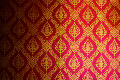 Thailand pattern. On temple wall Stock Photo