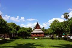 Thailand pavilion Royalty Free Stock Photo