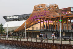 Thailand pavilion at Expo 2015 in Milan, Italy Royalty Free Stock Images