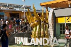 Thailand Pavilion - Expo Milano 2015 Stock Image