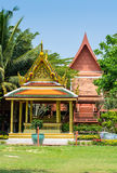 Thailand pavilion in King Rama 2 Memorial Park,Samutsongkhram Pr Stock Photos