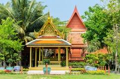 Thailand pavilion in King Rama 2 Memorial Park,Samutsongkhram Pr Stock Images