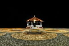 Thailand pavilion near the lake Royalty Free Stock Photos