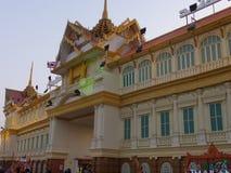 Thailand paviljong på den globala byn i Dubai, UAE Royaltyfria Bilder