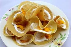 Thailand-Pfannkuchen Stockfotos