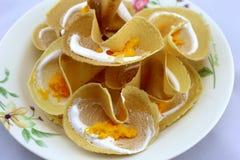 Thailand-Pfannkuchen Stockfotografie