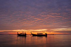 Thailand. Phi Phi island. Magic sunrise landscape Stock Photo