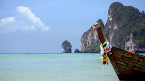 Thailand  Phi phi islands seascape stock footage