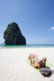Thailand - Phra Nang Strand Lizenzfreie Stockfotografie