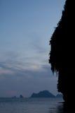 Thailand - Phra Nang strand Royaltyfri Fotografi