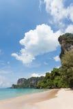 Thailand - Phra Nang strand Arkivfoton