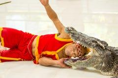 THAILAND, PHUKET - 11. DEZEMBER 2014: Traditionell für Thailand Stockbild