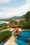 Thailand, Phuket-Insel. Luftaufnahme Stockbilder