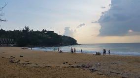 Thailand Phuket - Karon Beach.  stock video footage