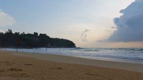 Thailand Phuket - Karon Beach - Thai Tourism. Thailand Phuket - Karon Beach stock footage
