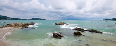 Thailand Phuket Ocean Stock Photography