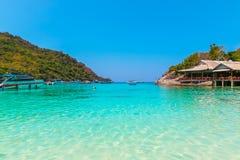 Thailand, Phuket Strand Stockbilder