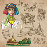 Thailand. Pictures of Life. Vector pack. Stock Photography