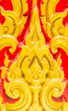 Thailand PM. Thailand beautiful golden stripes on a red background Stock Photos
