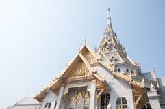 Thailand public temple. Thailand public temple(Wat Sothon royalty free stock photos