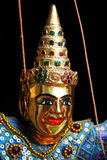 Thailand puppet face Royalty Free Stock Images