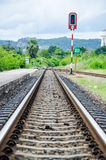 Thailand railway. Royalty Free Stock Image
