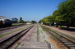 Thailand railway Track Royalty Free Stock Photography