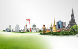 Thailand reser begrepp Royaltyfria Bilder