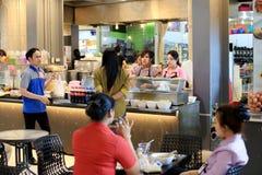 Thailand restaurang Fotografering för Bildbyråer