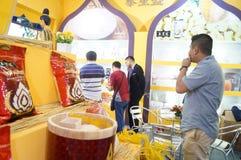 Thailand rice exhibition sales Royalty Free Stock Photos