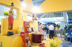 Thailand rice exhibition sales Stock Photography