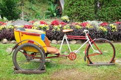 Thailand rickshaw three - wheeler Royalty Free Stock Images