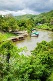 Thailand river kwai Royalty Free Stock Photo