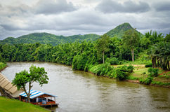 Thailand river kwai Royalty Free Stock Images