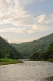 Thailand river. Mekok river in Chiang Rai , Thailand Royalty Free Stock Images