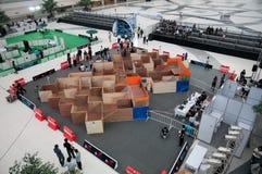 Thailand-Roboter-Meisterschaft 2012 Stockfoto