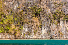 Thailand rock wall Stock Photo
