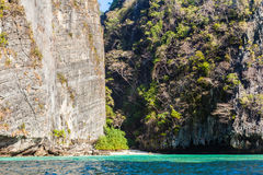 Thailand rockface Royalty Free Stock Images
