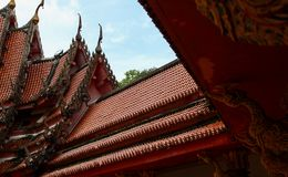 Thailand roof royalty free stock photography