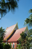 Thailand Roof Tiles Royalty Free Stock Image