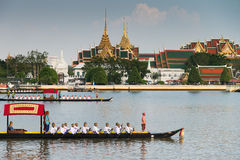 Thailand Royal Barge Procession Royalty Free Stock Image
