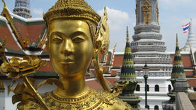 Thailand Royal Palace, Bangkok, Wat Phra Kaew Stock Photography